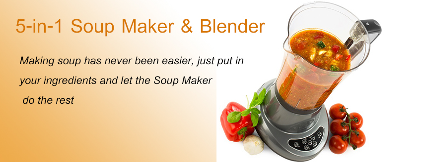 A blender that also cooks